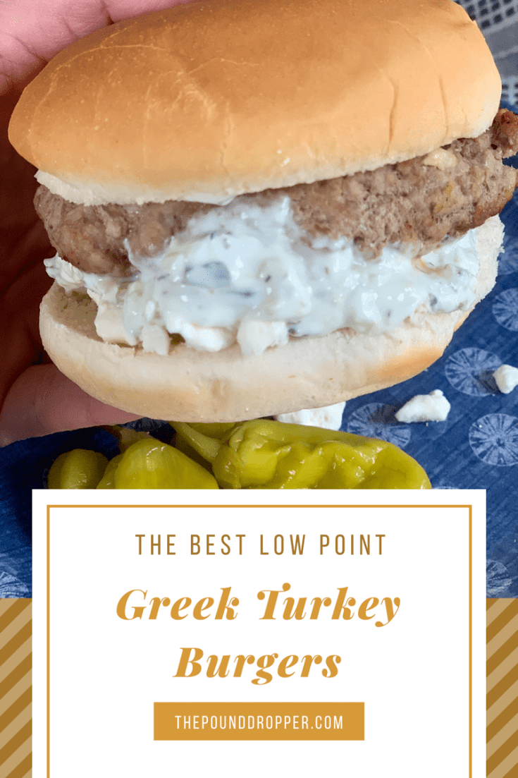 Best Low Point Greek Turkey Burgers