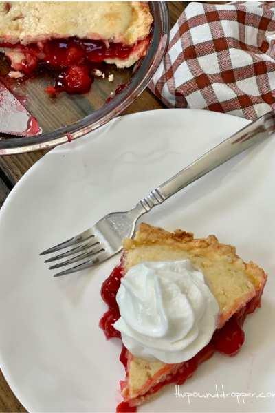 Skinny Cherry Pie