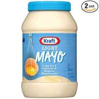 Kraft Light Mayonnaise (30 oz jars, Pack of 2)
