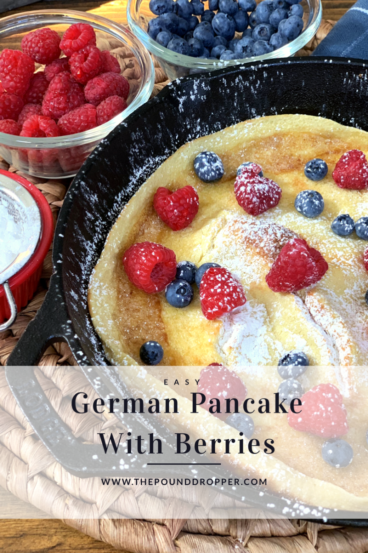 Easy German Pancake with Berries