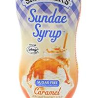 Smucker's Sundae Syrup Sugar Free Caramel Flavored Syrup, 19.25oz (Pack of 3)