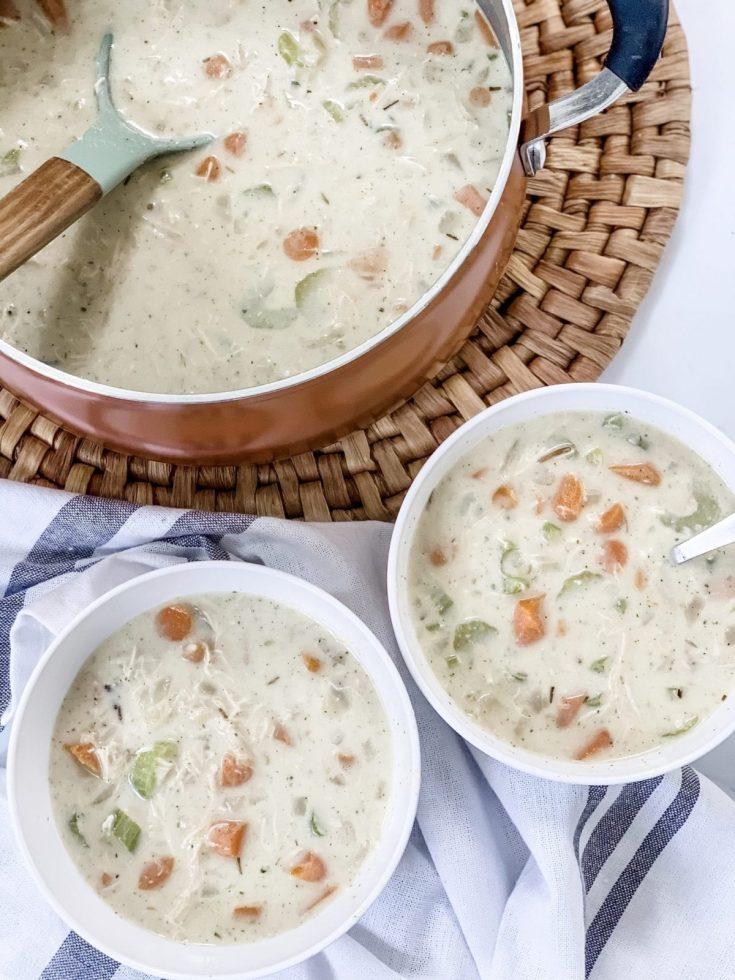 WW Creamy Chicken Wild Rice Soup