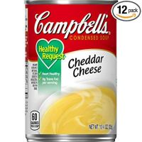 Campbell's Condensed Healthy Request Cheddar Cheese Soup, 10.75 oz. Can (Pack of 12)