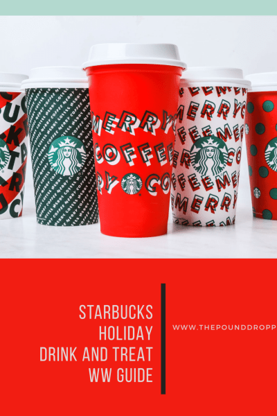 2019 Starbucks Holiday Food and Drink Point Value Guide