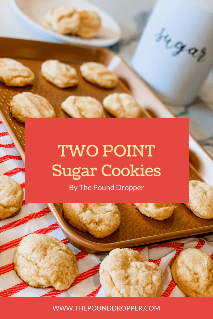 Two Point Soft Sugar Cookies