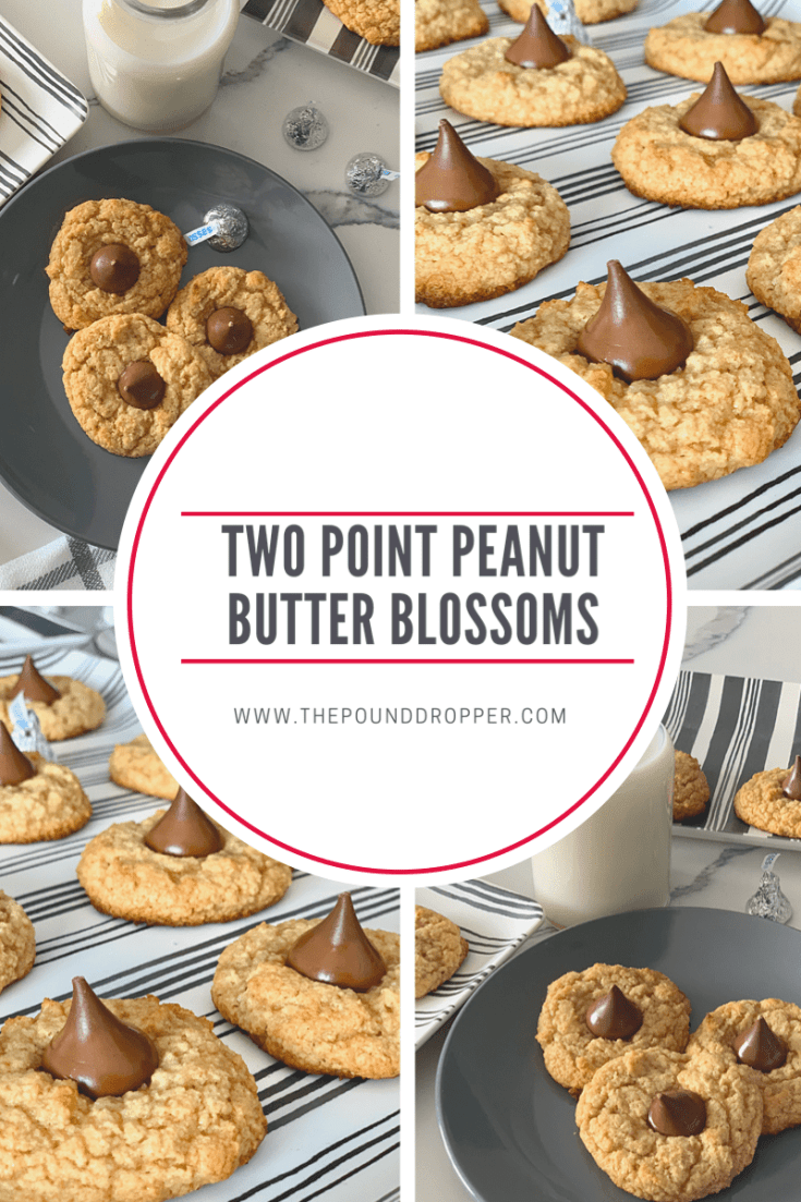 Two Point Peanut Butter Blossoms