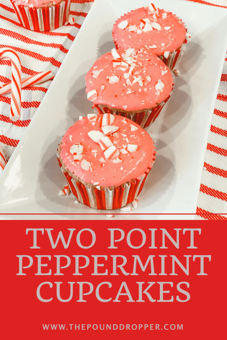 Two Point Peppermint Cupcakes