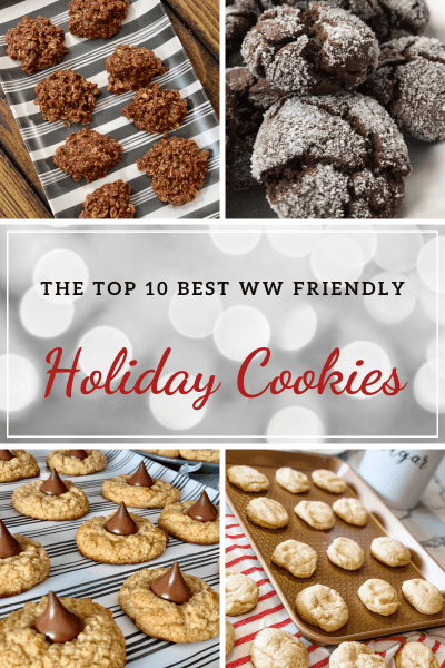 The Top 10 Best WW Friendly Holiday Cookies