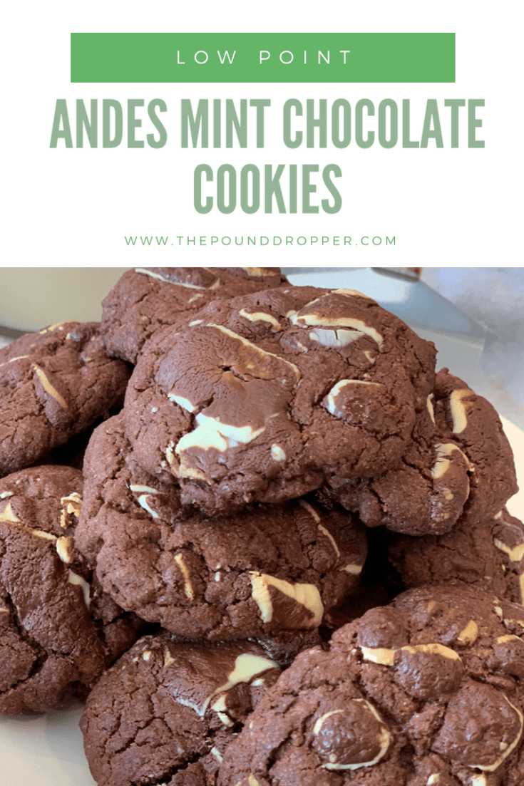 Low Point Andes Mint Chocolate Cookies