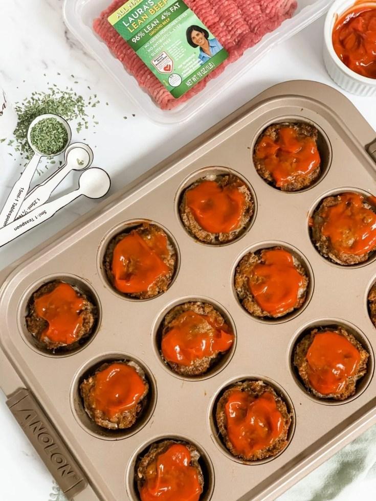 Skinny Meatloaf Muffins
