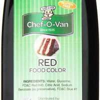 Chef-O-Van Food Coloring, Red