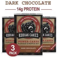 Kodiak Cakes Protein Pancake Power Cakes, Flapjack and Waffle Baking Mix, Dark Chocolate