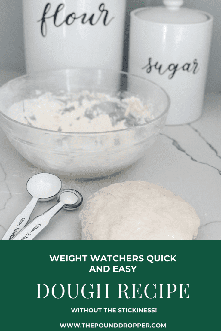 Weight Watchers Quick and Easy Dough Recipe via @pounddropper