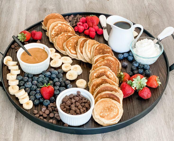 Silver Dollar Pancake Board