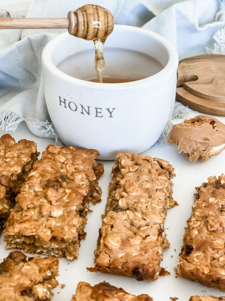 Oatmeal Peanut Butter Chocolate Chip Bars