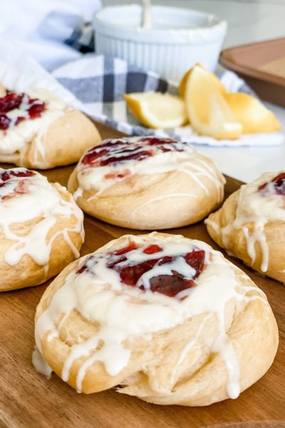 Easy Crescent Roll Cream Cheese Danishes