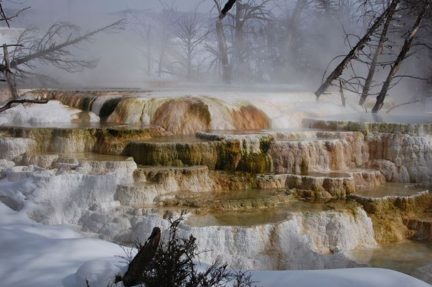 Steaming in the Winter