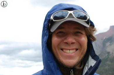 Brent in Rainy Glacier