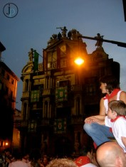 The Plaza in Pamplona
