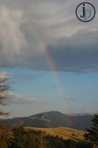 Rainbow, but where was the Rain?