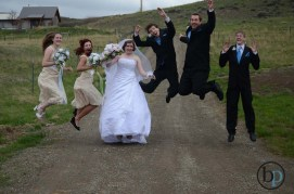 Jumping - Goodman Wedding