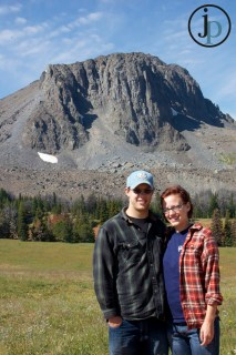 The Mr. & Mrs. and Black Butte