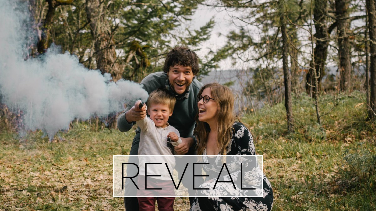 Powell Family Gender Reveal