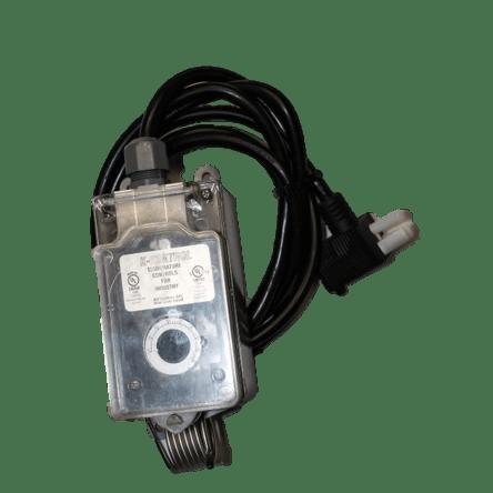 Thermostat 115V plug