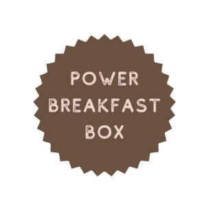 POWER BREAKFAST BOX