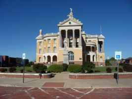 Historic Courthouse in Marshall