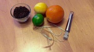pomadore supplies w/zester