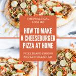cheeseburger pizza pinterest image