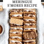 the best crispy meringue s'mores recipe