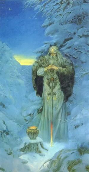 Stribog Wind God of Good Fortune