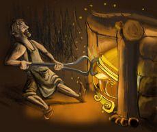 Ilmarinen is a supreme Deity of divine origin who created the sky