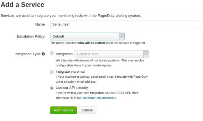 pagerduty api key