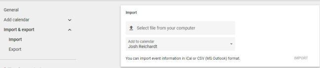 Add Office 365 Calendar to Google Calendar