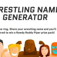 Figure Out Your In-Ring Name with this Wrestling Name Generator!