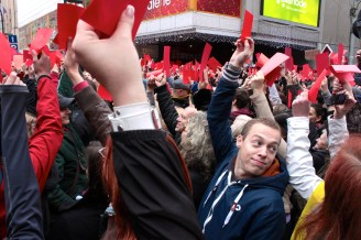 On November 17, Czechs marked the 25th anniversary of the Velvet Revolution that swept away more than four decades of communism. Instead of celebrating the milestone, more than 5,000 people demonstrated against President Milos Zeman. Protestors held red cards into the air in a soccer reference: no more chances for the offender.