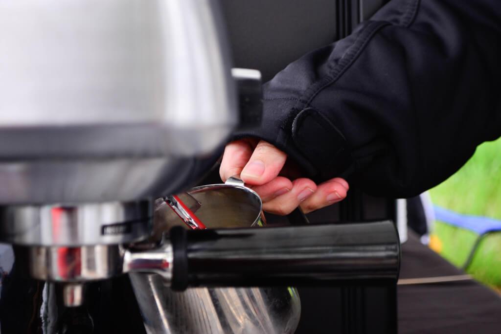fresh roasted coffee mocha