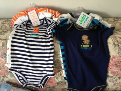 Lots of Onsies needed for Baby