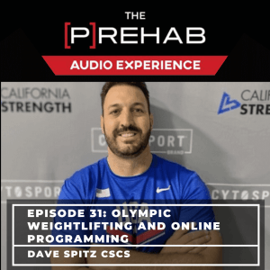 olympic weightlifting online programming dave spitz the prehab guys