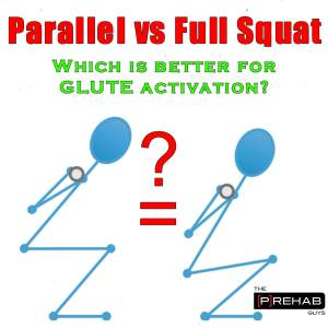 squat depth Parallel vs Full Squat