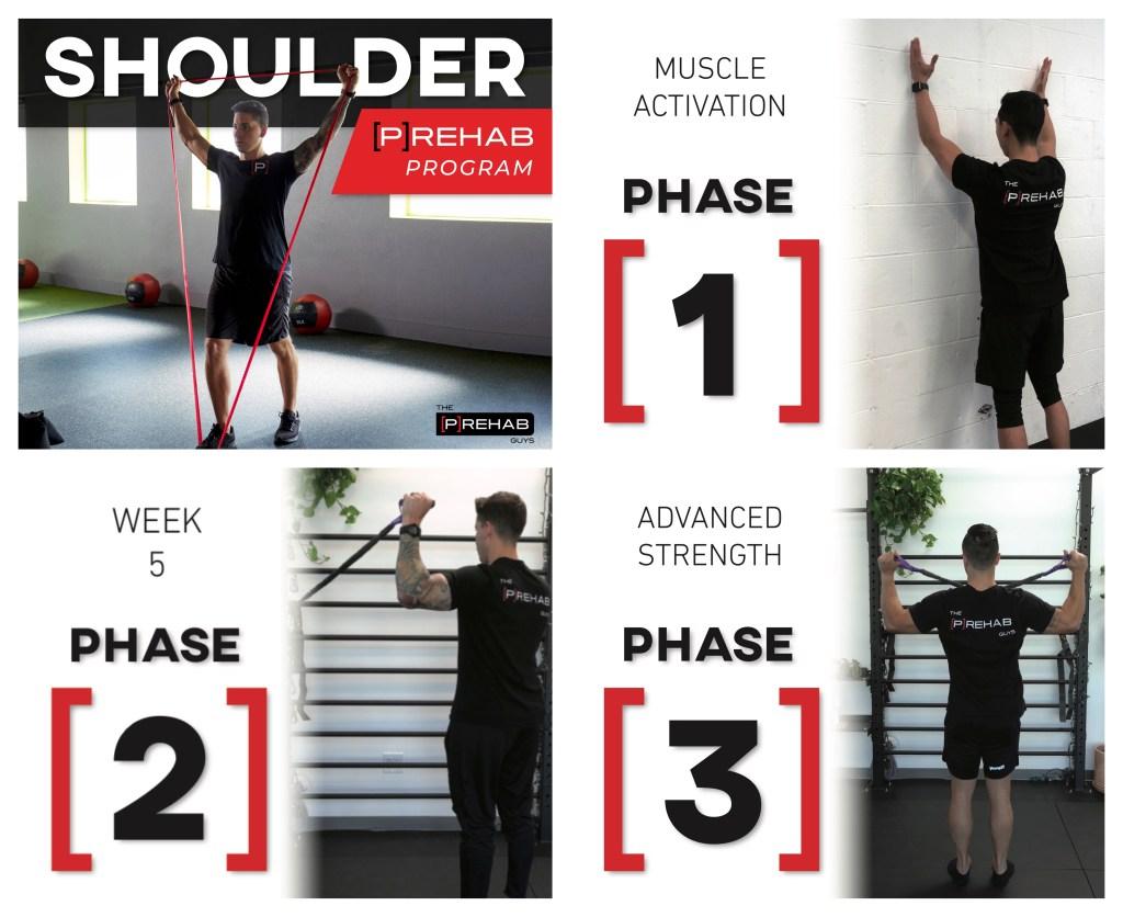shoulder program the prehab guys