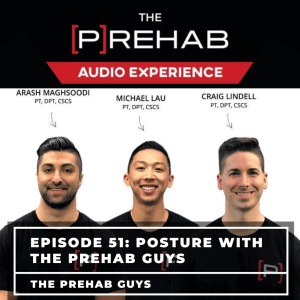 posture with the prehab guys podcast