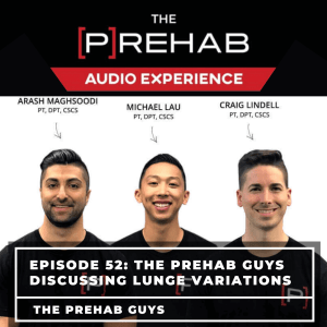 prehab guys lunging variations