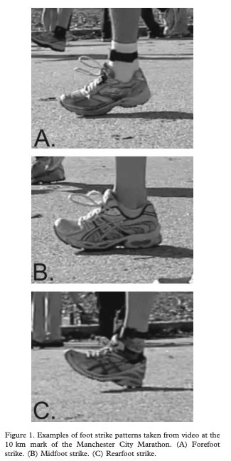 foot strike patterns how to change running form safely the prehab guys
