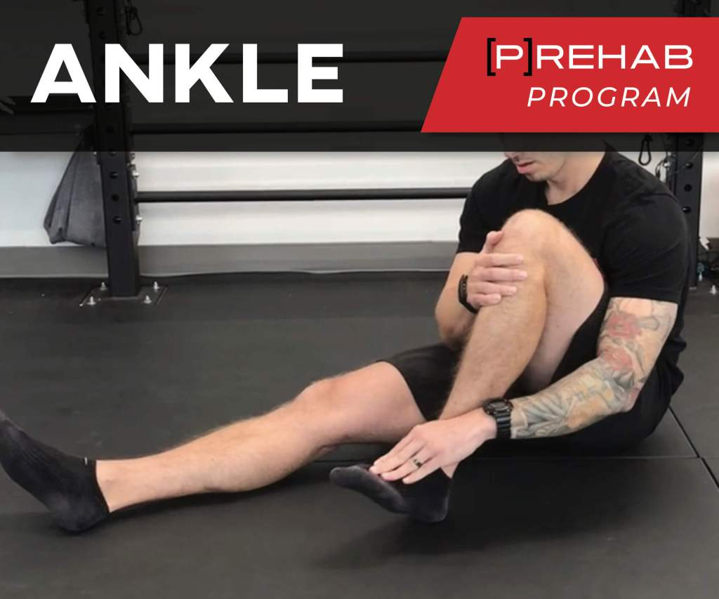 ankle sprain rehab prehab program