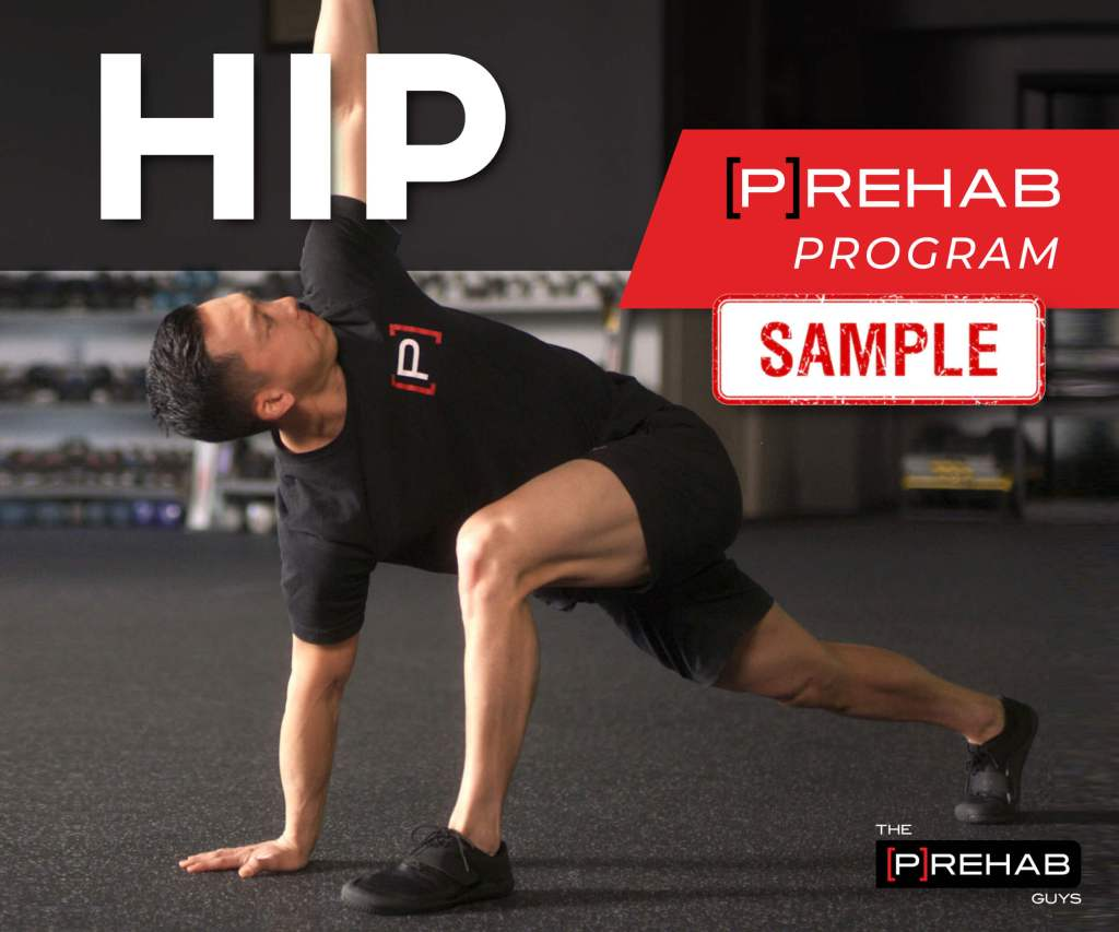 hip prehab program sample