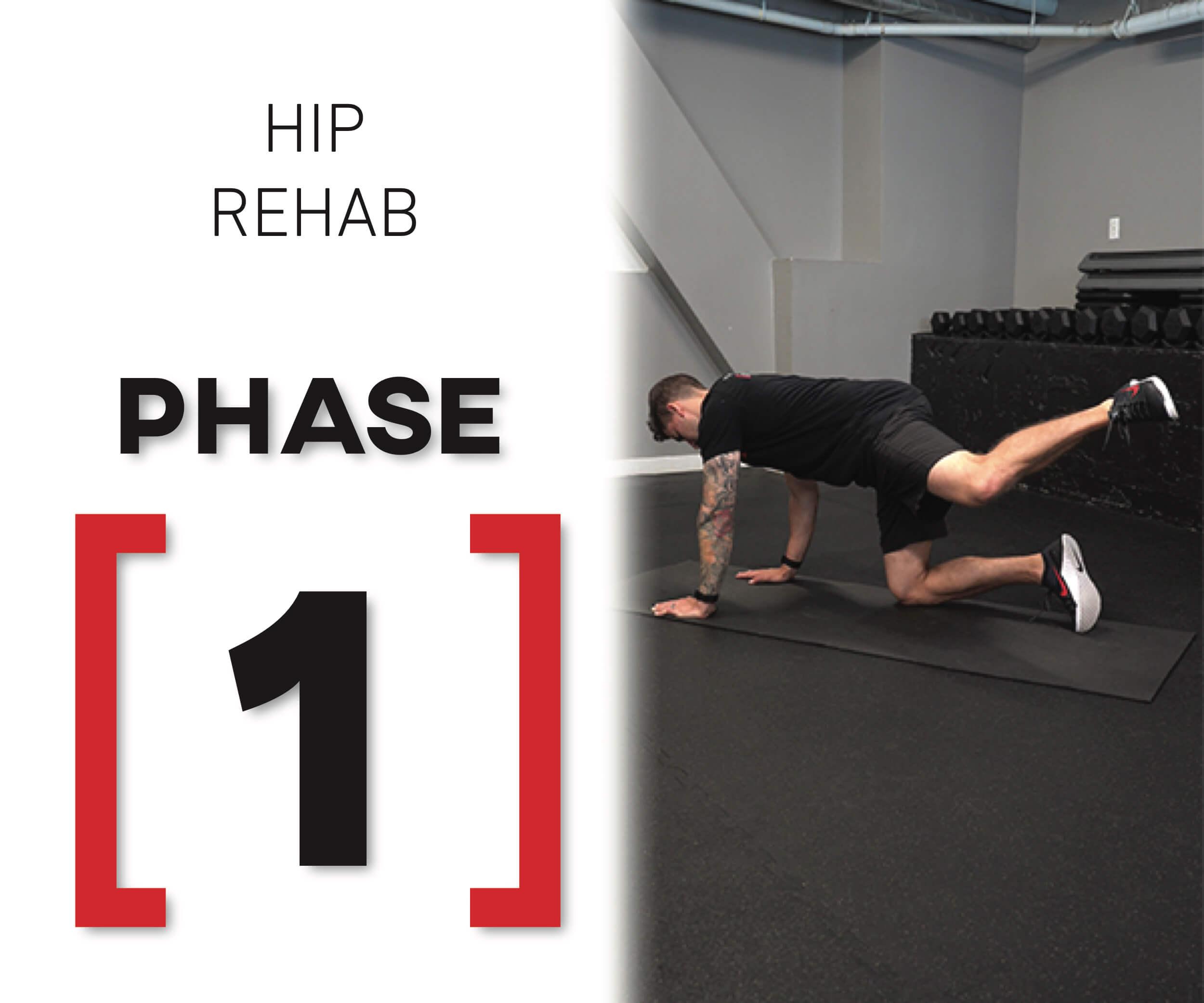 hip prehab program hip rehab phase 1